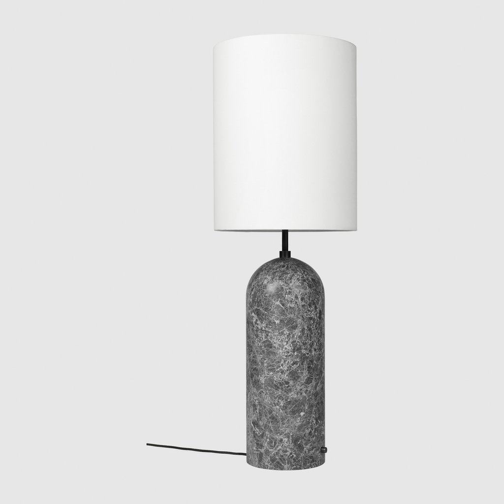 Gravity Floor Lamp,  Grey Marble base