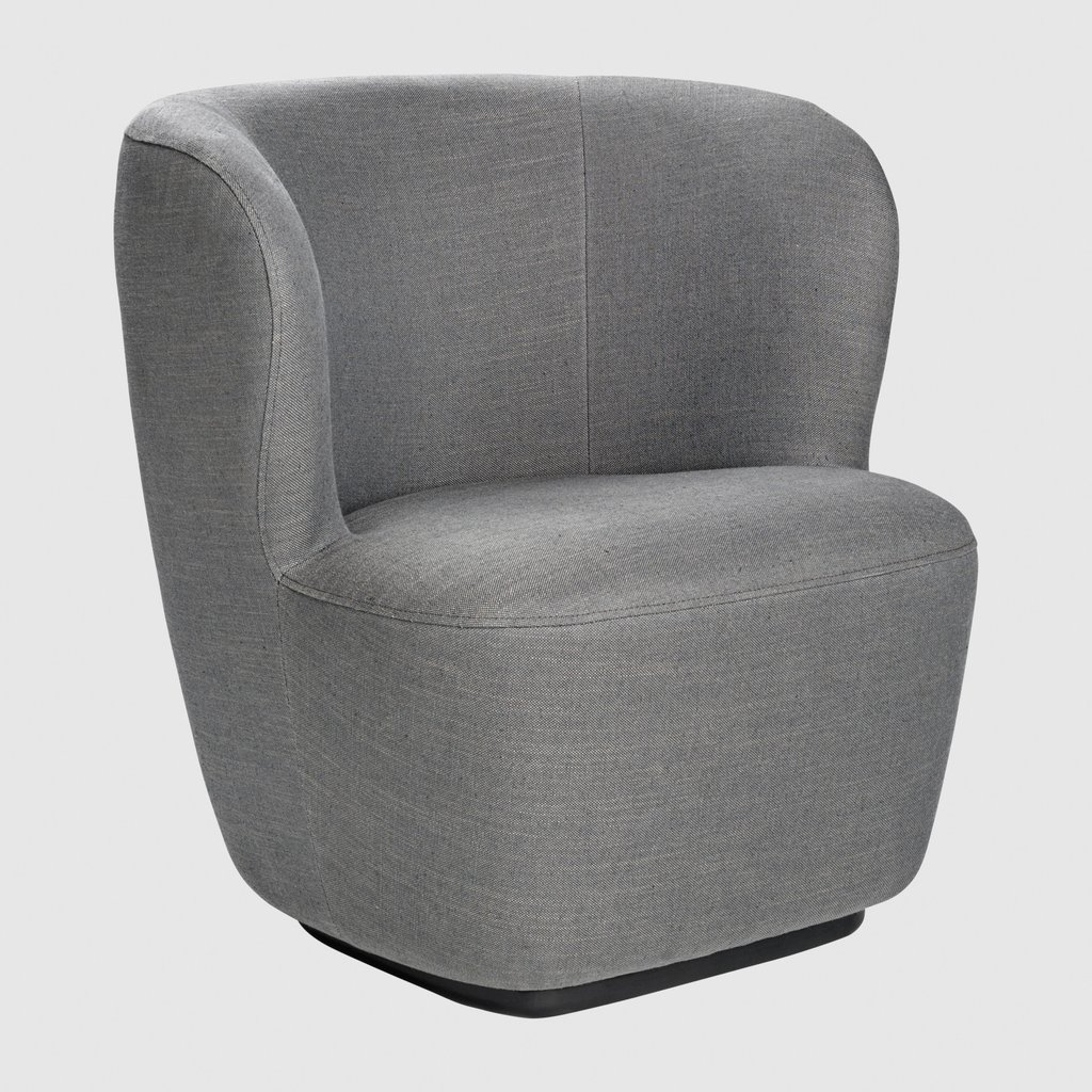 Stay Lounge Chair - Small, Returning Swivel Base